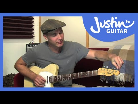 How to Tune Your Guitar To Open D Tuning - Guitar Lesson [ES-032]