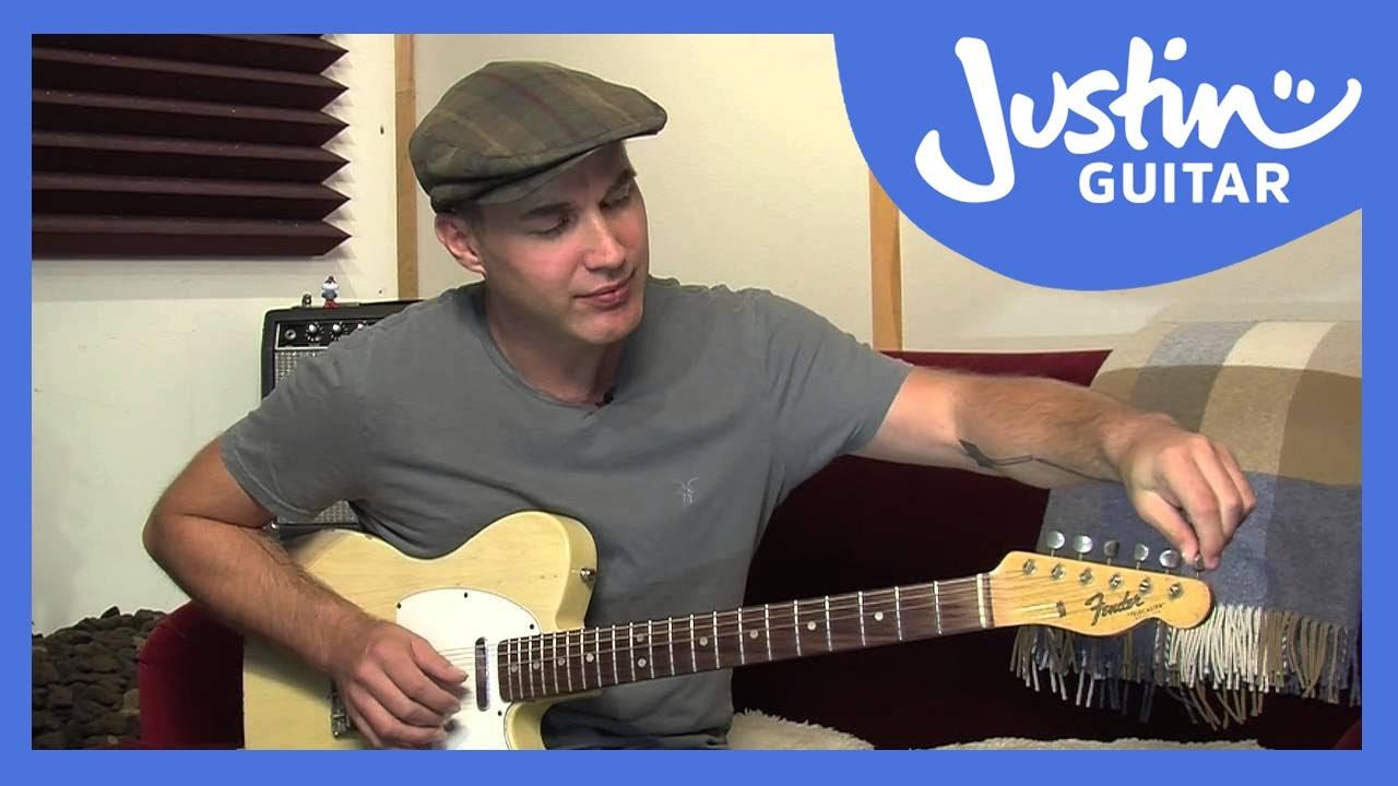 Open E Tuning Justinguitar