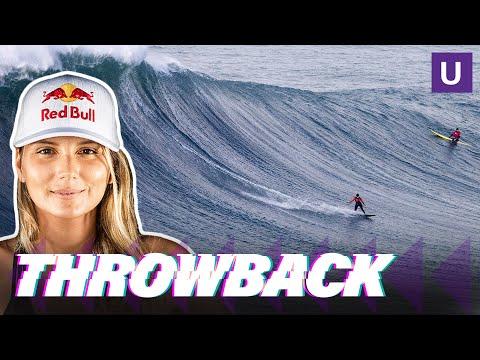 Maya Gabeira's DEATH DEFYING Surf Story | Throwback | Unstoppable