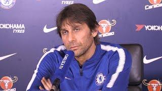 Antonio Conte Full Pre-Match Press Conference - Chelsea v Crystal Palace - Premier League