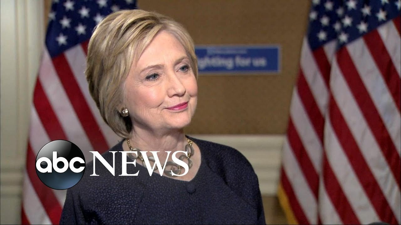 Hillary Clinton clarifies that she will support the Democratic nominee ...