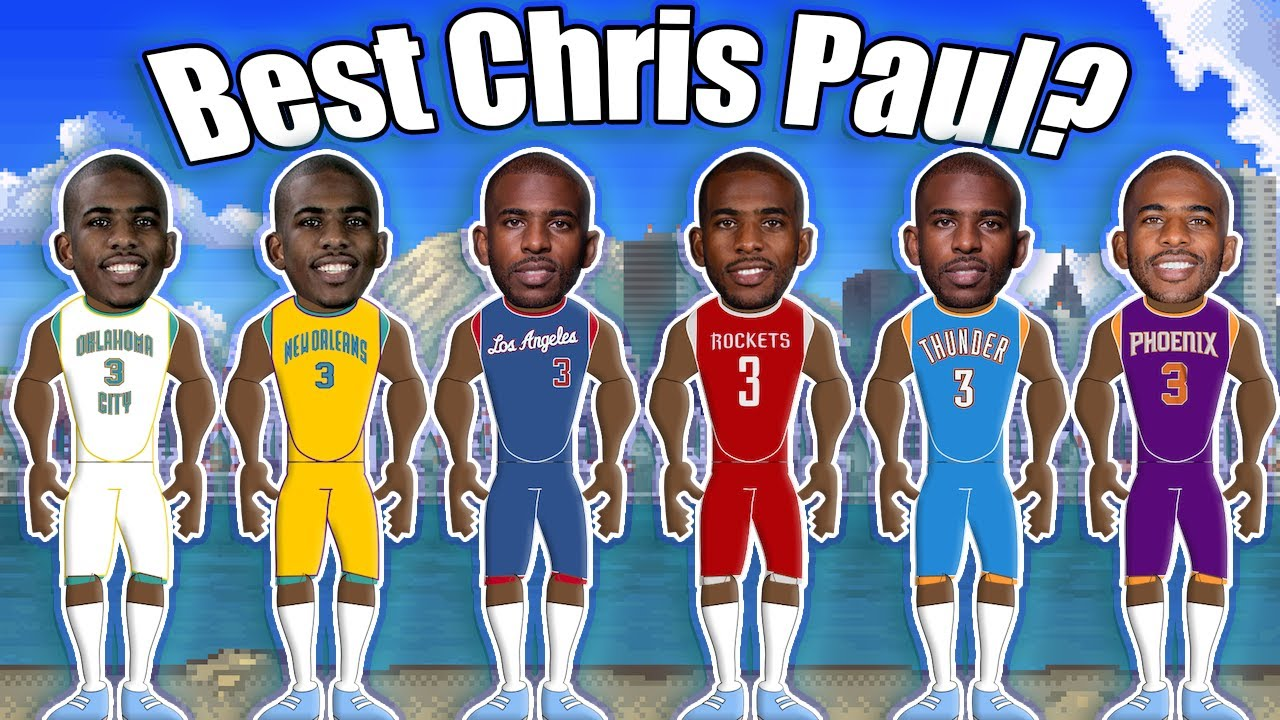 Which Version of Chris Paul is the Best? Ranking Every Version of Chris Paul from Worst to Best!