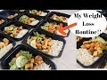 Weight loss Meal Prep | My Healthy Weight Loss Meal Prep| Nazkitchenfun