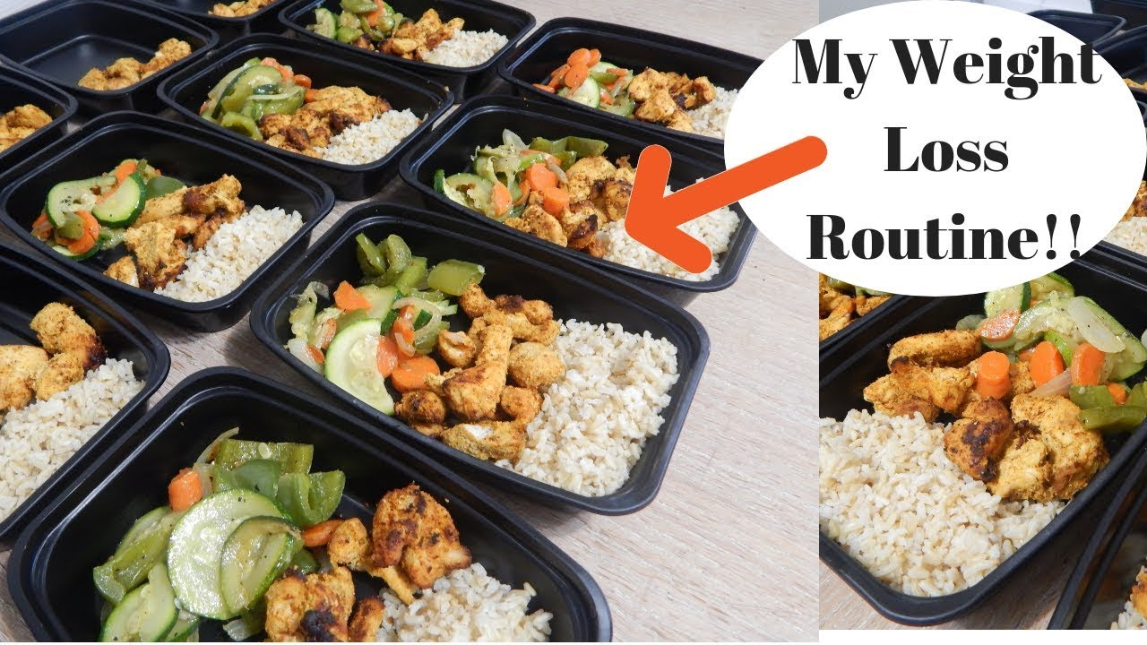 Weight Loss Meal Prep My Healthy Weight Loss Meal Prep Nazkitchenfun