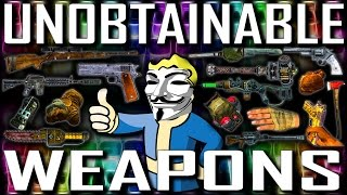 Unobtainable Weapons - Fallout New Vegas Includes DLCs