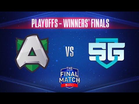 Alliance vs SG Game 1 - The Final Match 2017 Grand Finals - @Fogged @Gareth
