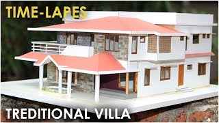TRADITIONAL VILLA | TIME-LAPES How to make realistic villa house