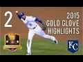 Alcides Escobar   2015 Gold Glove Highlights