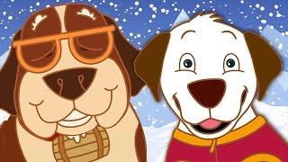 Die Rescue-Hunde | Lustige Cartoons für Kinder | Die Abenteuer von Annie und Ben!!!
