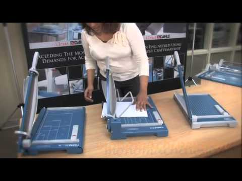 Dahle Guillotine Paper Cutters Overview
