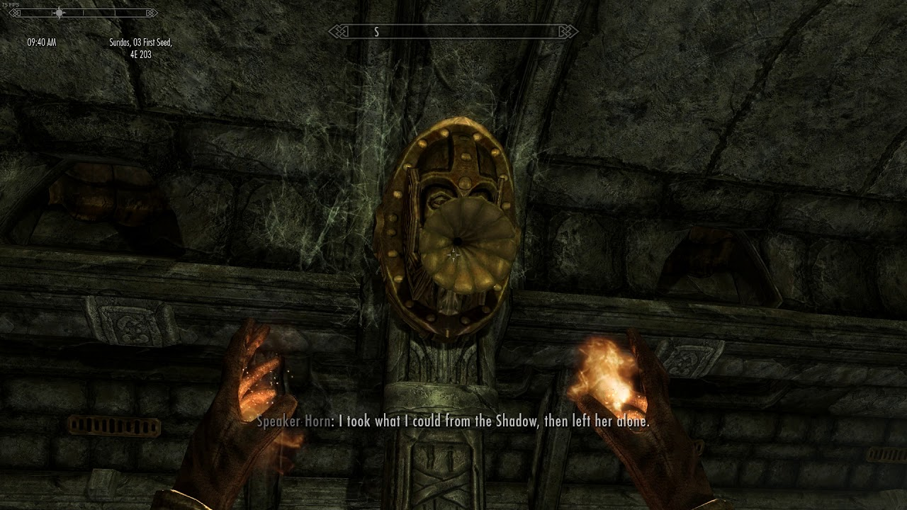 Skyrim Clockwork mod playthrough part 5 - Crystalline Heart quest