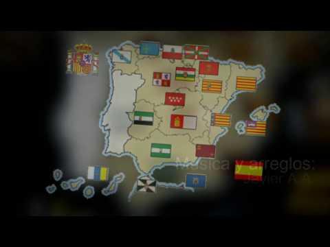 La canción de las Comunidades Autónomas de España para niños.