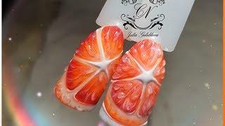 ❤Дизайн ногтей❤Апельсин или грейпфрут?❤Как считаете вы?❤