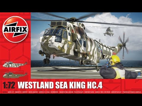 Westland Sea King HC.4 1/72 Scale 2016 NEW MOULD A04056