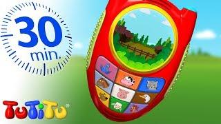 Игрушки для малышей | телефон | 30 минут ТуТиТу Игрушки