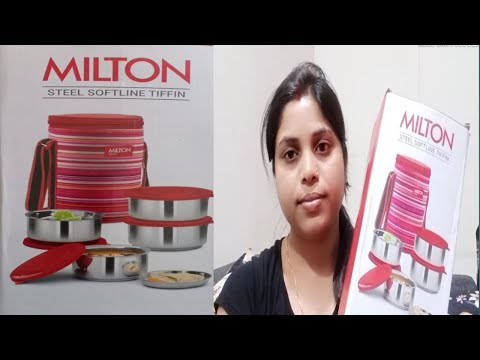 Milton Ribbon Lunch Box 4 || Milton Lunch Box Review || Stainless Steel Containers...
