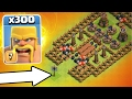 300 BARBARIANS vs THE GATES OF HELL!! - Clash Of Clans MORE BARBARIANS THEN EVER BEFORE!