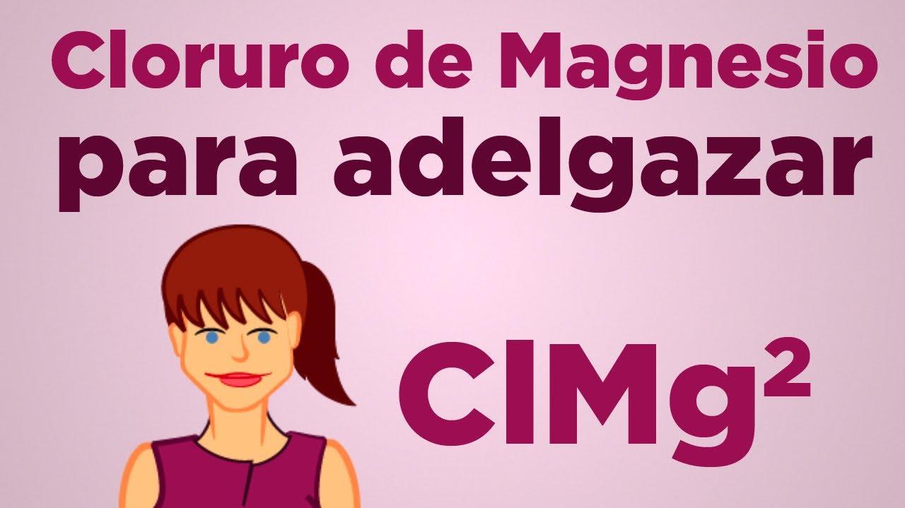 El cloruro de magnesio es para adelgazar
