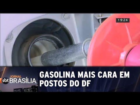 Gasolina mais cara no DF