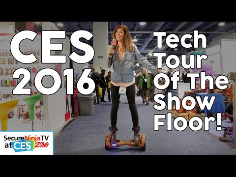 Tech Trade Show Tour: CES 2016 Las Vegas