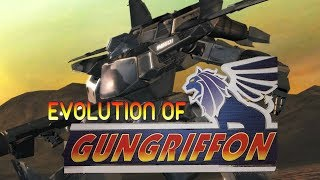 Graphical Evolution of Gungriffon (1996-2004)