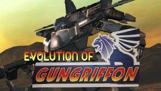 Graphical Evolution of Gungriffon (1996-2004)