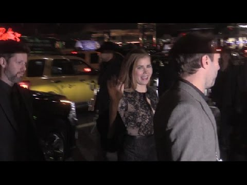 Amy Adams arriving at Gala