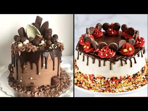 Download 20 Easy Chocolate Cake Decoration Ideas!! How to Garnish by So Yummy