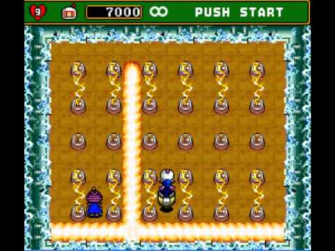dat bom 4 - Super Bomberman 4 level 5