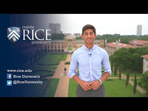 Inside Rice University for Spring 2016