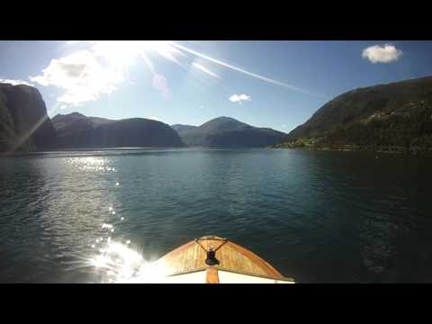 Boat trip - wooden boat Norway
