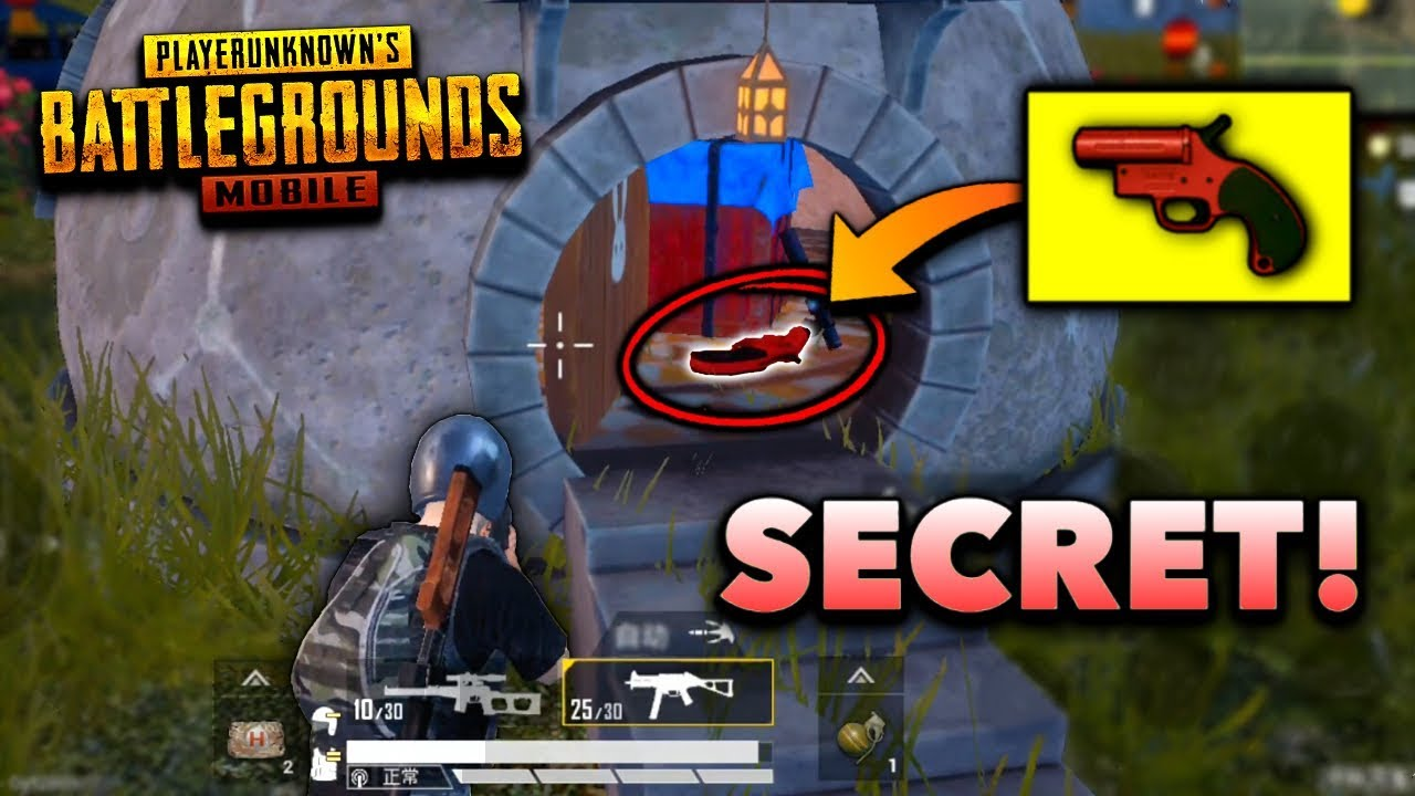 SECRET AIRDROP LOCATION in PUBG Mobile! BEST Loot! | New Update 1.3.6 (Level 3 Loot)