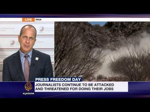 Al Jazeera's Peter Greste discusses World Press Freedom Day