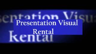 High Quality Presentation Visuals - Great Budget Projector Rental Thumbnail