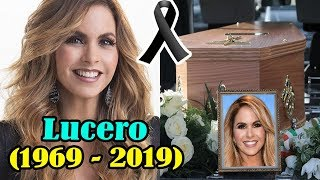 Descansa en paz   HACE UNAS HORAS Confirma la triste noticia de la bella cantante Lucero