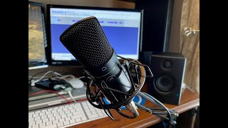 Mackie EM-91C Condenser Mic Review & Demo
