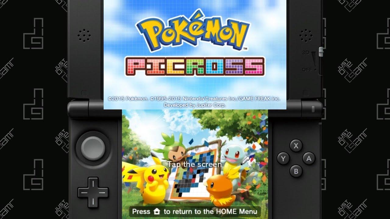 Pokemon picross m 1 images pokemon images for Pokemon picross mural 02
