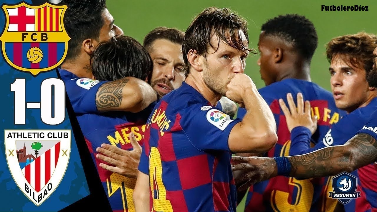 Barcelona VS Athletic Bilbao 1-0 Highlights & Goal ...