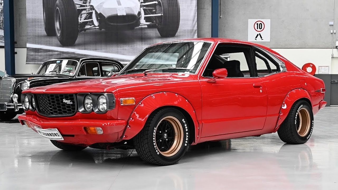 c1972 Mazda RX3 'Ex Group C' Modified Coupe - 2019 Shannons Melbourne Summer Classic Auction