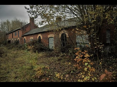 New Hawne Colliery Abandoned coal mining buildings. Gopro hero 5 black