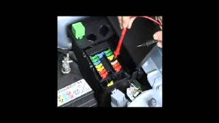 How To Test the Fuel Pump current draw on a Peugeot 106 & Citroen Saxo