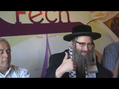 Anti-Zionist Rabbi lecturing at University of Chile [Spanish