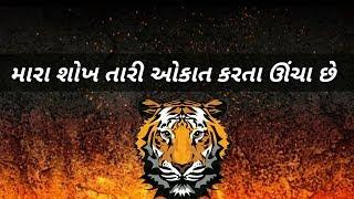 Gujarati Bhaigiri Status || Gujrati Status Video || Dadagiri Status