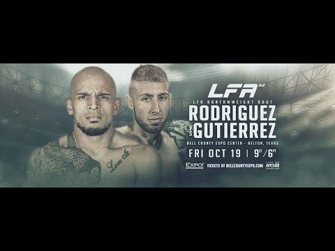 LFA 52 - Rodriguez vs. Gutierrez | Friday, October 19th on AXS TV