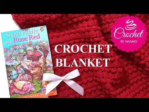 HOLIDAYS💖 CROCHET BABY BLANKET✨ EXCLUSIVE with SIZES |☕THE CROCHET SHOP