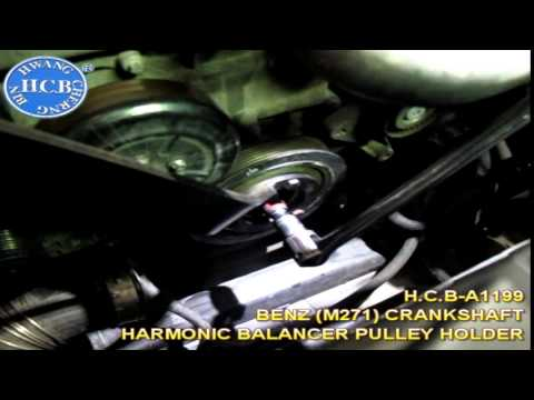 H.C.B-A1199 BENZ (M271) CRANKSHAFT HARMONIC BALANCER PULLEY HOLDER