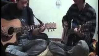 Vùng trời bình yên - guitar practice