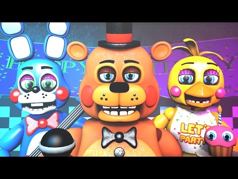 Five Nights at Freddy's Song (FNAF SFM 4K Remake)(TIFWhitney Remix)
