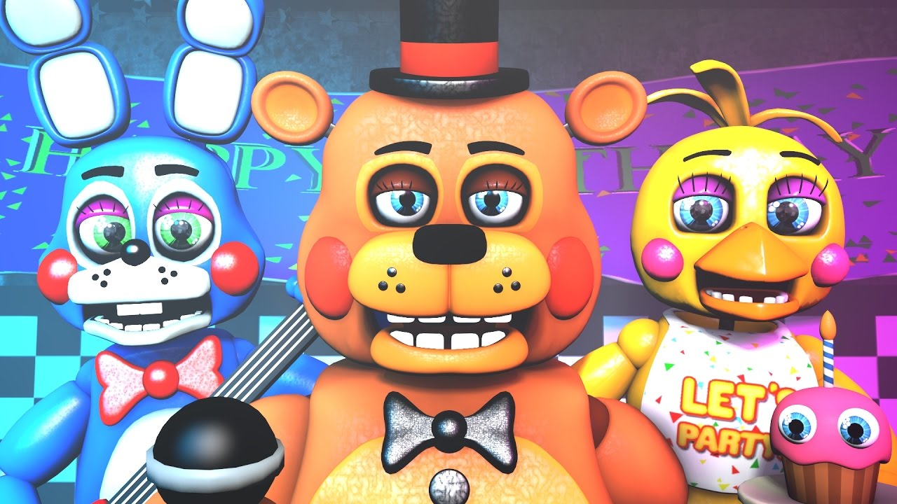 Five Nights at Freddy s Song  FNAF SFM 4K Remake  TIFWhitney Remix     Five Nights at Freddy s Song  FNAF SFM 4K Remake  TIFWhitney Remix