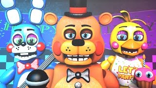 - Five Nights at Freddy s Song FNAF SFM 4K Remake TIFWhitney Remix